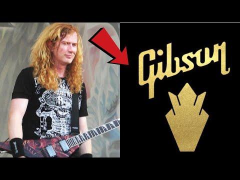 Dave Mustaine ушел в Gibson?! Новые доказательства??