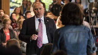 Angry Voters Confront Rep. Tom MacArthur in New Jersey