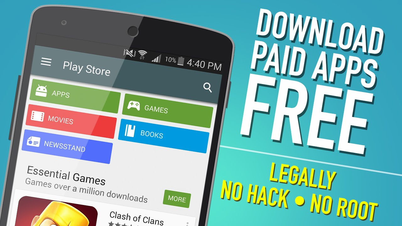 Download Paid Android Apps Free From Play Store No Root