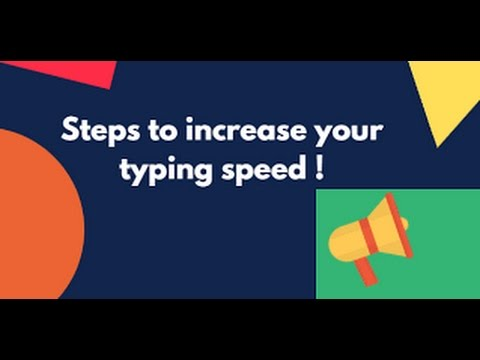 How To Type Fast Without Lo Ng At Keyboard In Hindi