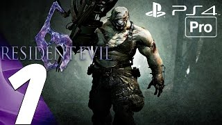 Resident Evil 6 (PS4) - Gameplay Walkthrough Part 1 - Prologue (Jake) [1080P 60FPS]