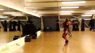 Zumba toning with America - e no easy, P Square ft J Martins