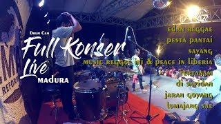 FULL KONSER GERANIUM LIVE MADURA | DRUM CAM