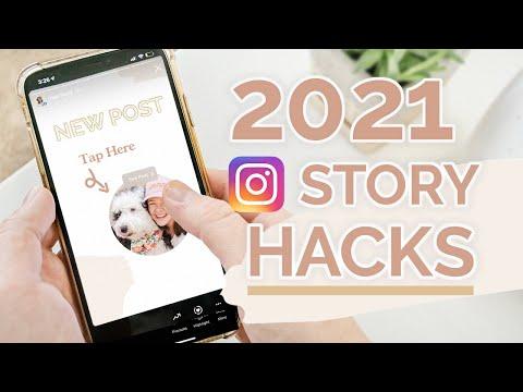 INSTAGRAM STORY HACKS 2021 ✨