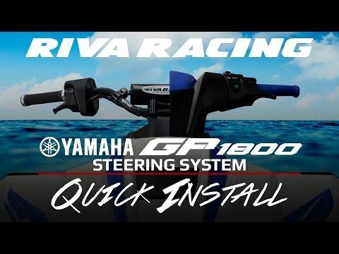 Quick Install - RIVA Yamaha GP1800 Steering System
