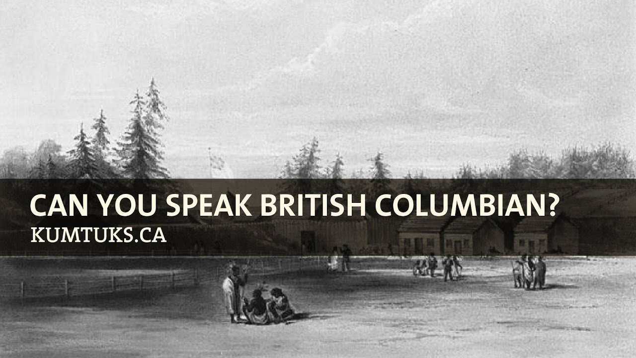 Can You Speak British Columbian?