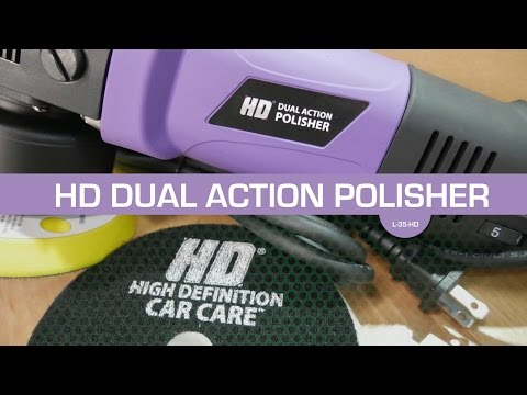 3D Products HD Dual Action Polisher Unboxing