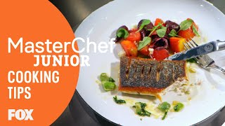 Cooking Tips: Getting Serious | Season 5 | MASTERCHEF JUNIOR
