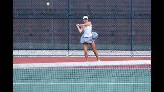 Trinity Women's Tennis ITA Regionals Day Two