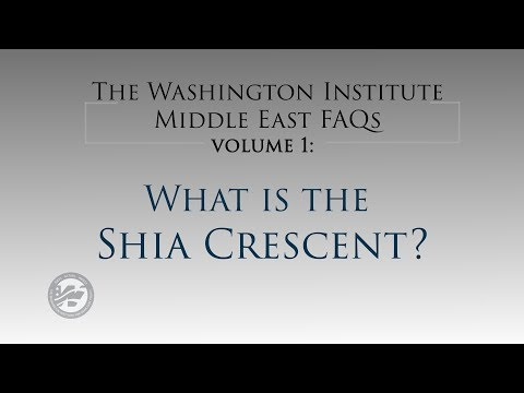 Middle East FAQs Volume 1: What is the Shia Crescent? - The