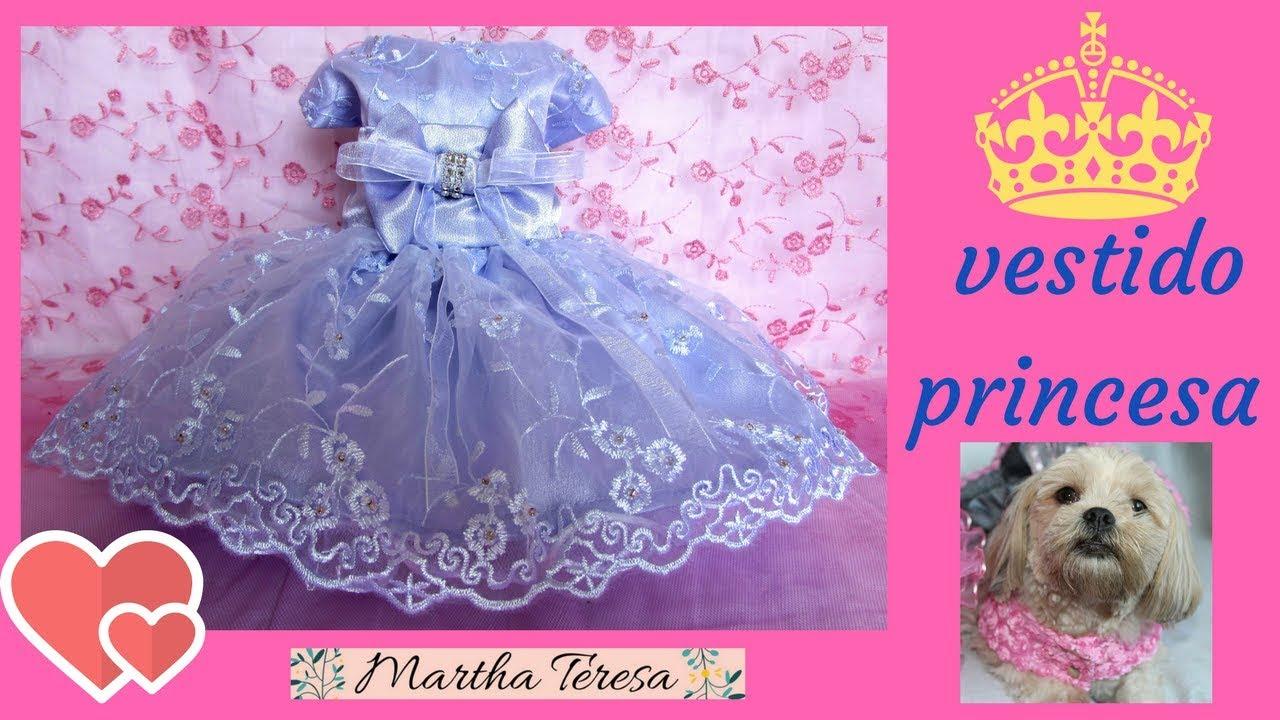 Vestido De Princesa Para Perrita Talla 0 Molde Y Confección