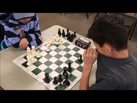 6 Year Old's Chess Game Is Scary! Jacob vs Grey Shirt |