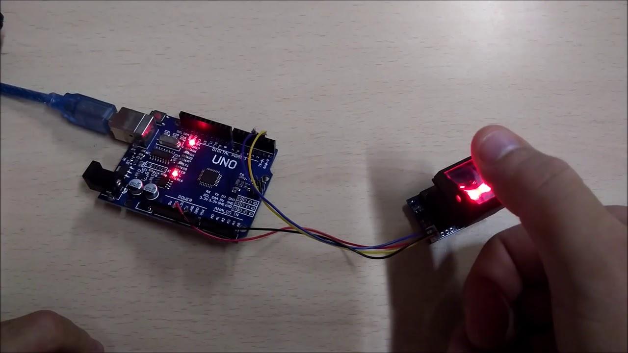 Fingerprint reader for Arduino