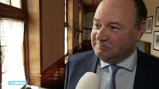"""Henk Otten bij installatie Eerste Kamer: """"Thierry en ik hebben wel minder contact"""""""