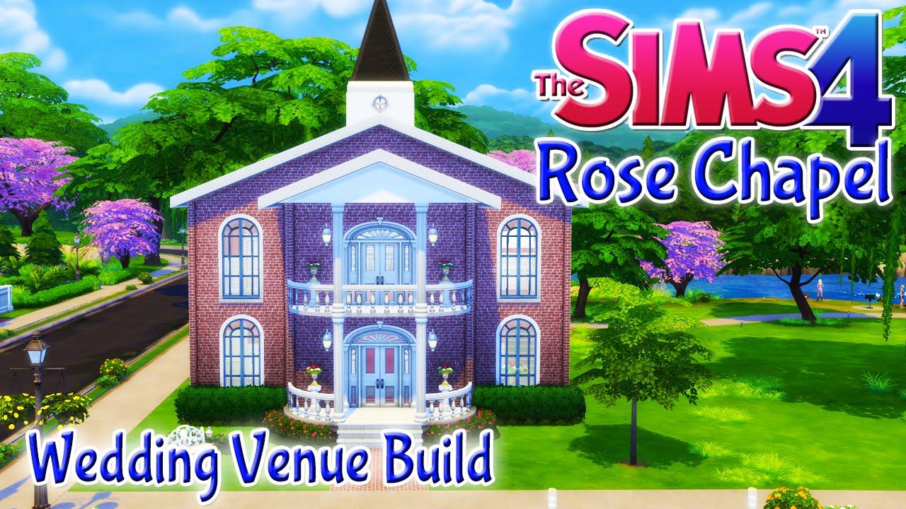 Sims  Wedding Build