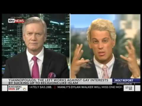 Milo Yiannopoulos on the Bolt Report 11.07.2016