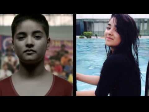 Cute Girl Zaira Wasim:Aamir Khan Cute...