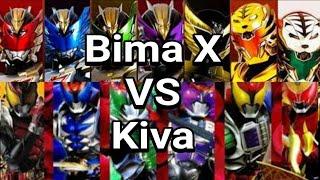 Satria Naga Bima X VS Kamen Rider Kiva