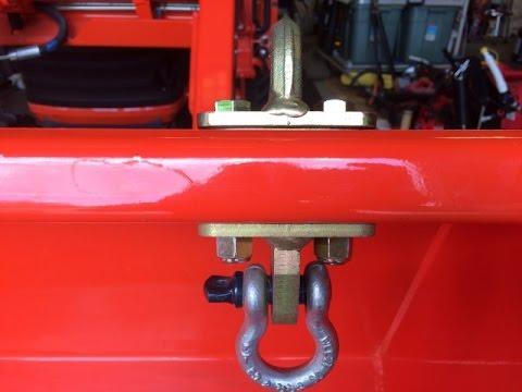 Bolt-On Grab Hooks for Kubota Tractors