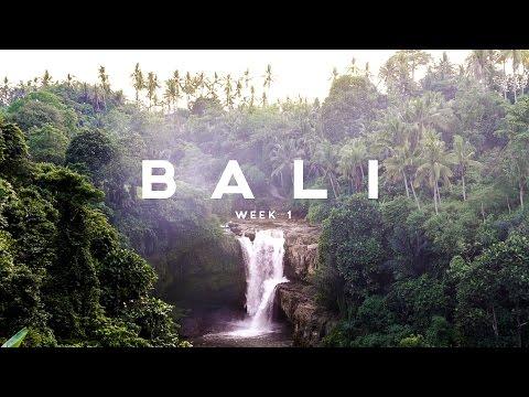FIRST WEEK OF BALI // WEEKLY VLOG 003