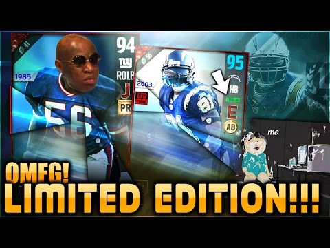 LIT! GOT LIMITED EDITION LADAINIAN TOMLINSON! THE REAL LT! LAWRENCE TAYLOR IS IN PACKS TOO .. MUT 17