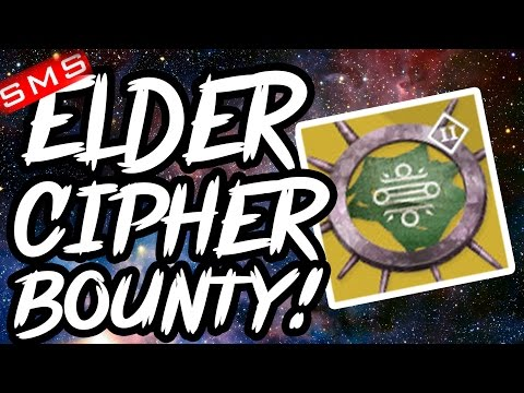 Destiny: How to get ELDER CIPHER Exotic Bounty & Can they be FARMED?