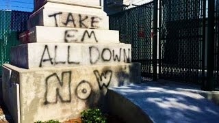 Post-Confederate Monument Removed In New Orleans, Obviously Some Guy Has To Freak Out