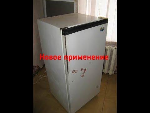 Пескоструйная камера из старого холодильника!!!