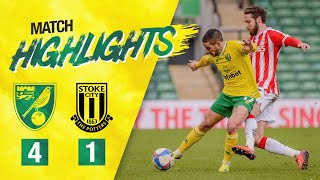 HIGHLIGHTS | Norwich City 4-1 Stoke City