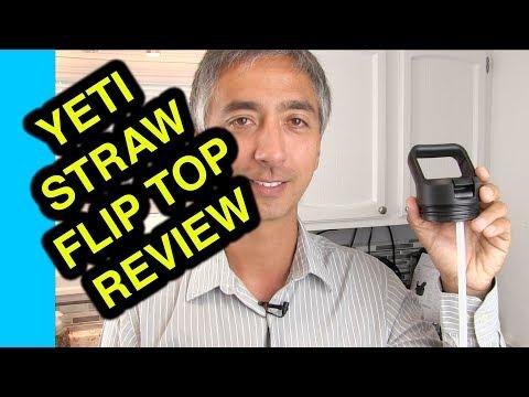Flip Top Lid for Yeti - Review Yeti Bottle Straw Cap Rambler