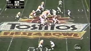Tennessee vs Flordia St. 1998 National Championship Game