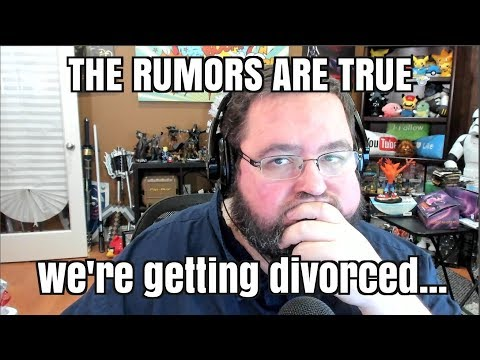 It's true, wife and I are getting a divorce.  Here's whats next for us.