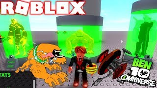 ROBLOX ! BEN 10 NOVO ATAQUE DO BESTA E DNA DE ALIENÍGENAS NO OMNITRIX - BEN 10 ARRIVAL OF ALIENS