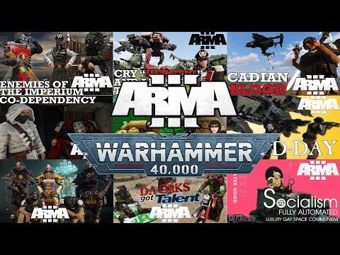 Fusterclucks In Arma 3: Warhammer 40k