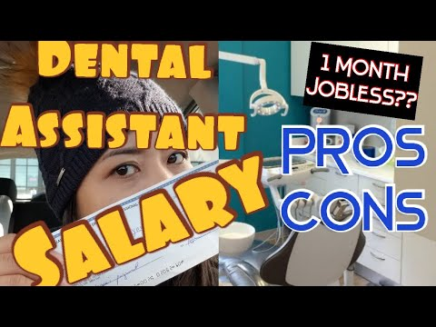 Life In Canada: Salary Of  Dental Assistant   Sweldo Ng Dental Assistant   Pros And Cons
