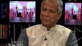 Mohammed Yunus on microcredit-1/3