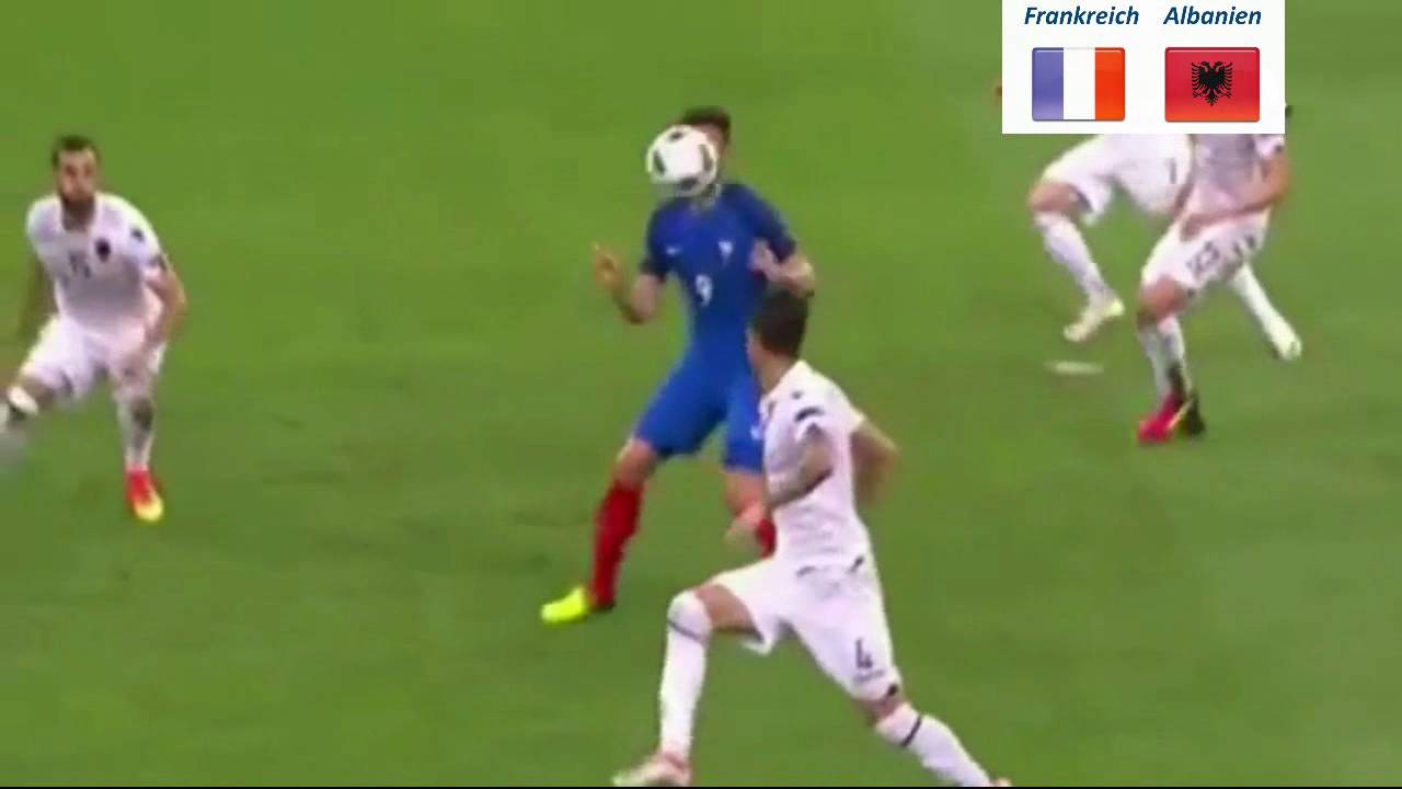 Albanien Vs Frankreich 2021