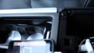 Apple Iphone screen to Range Rover Evoque display