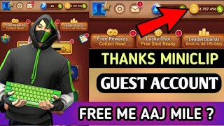 Carrom pool free coins in guest account   carrom pool Unlimited coins trick   carrom disc pool