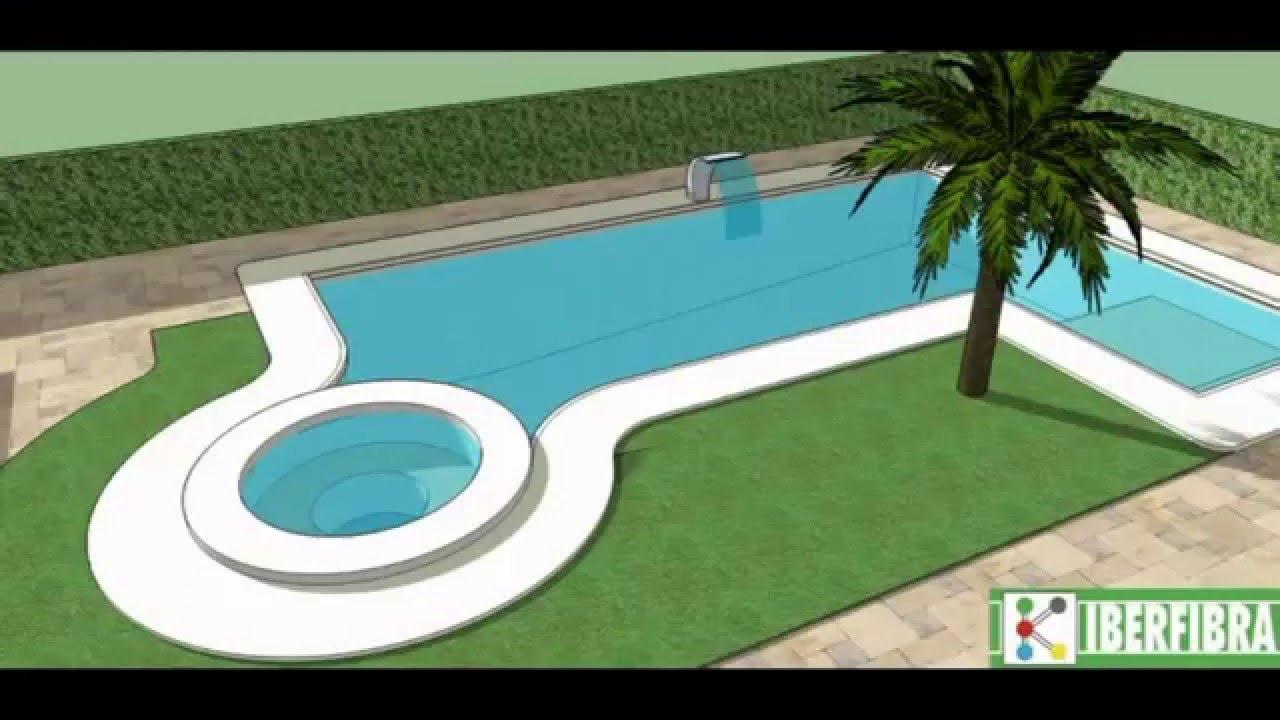 Iberfibra propuesta comercial de piscina 7x4 hormig n for Hormigon gunitado piscinas