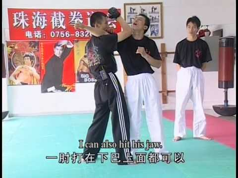 Chin Na from PLA trainer and JKD exponent