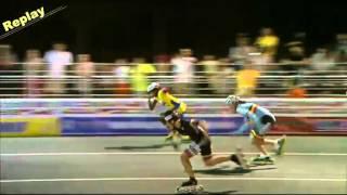 WK: 100 meter finale dames junioren