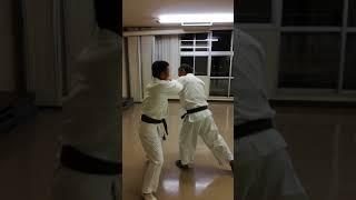 教室での一般基本練習です。 2017.7.26 東部地区市民館 中村3級VS飯尾...
