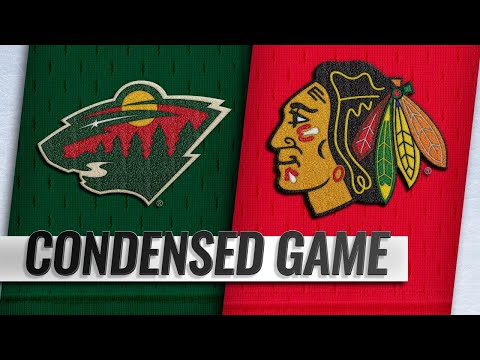 12/27/18 Condensed Game: Wild @ Blackhawks