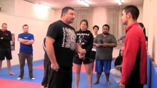 The Reality Of Knife Attack - Deane Lawler @ the A.I.M Academy 2011