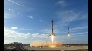 Первый запуск Falcon Heavy