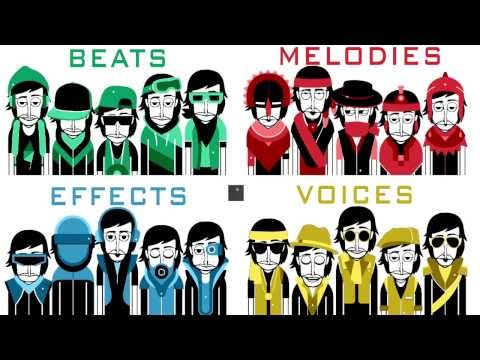 Incredibox V3 - All characters/sounds at the same time