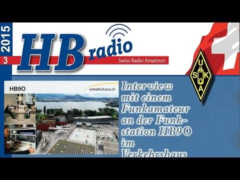 Funkstation HB9O im Verkehrshaus der Schweiz in Luzern