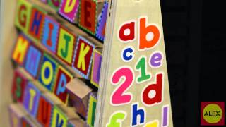 Alex Toys' Ready, Set Abcs, 123s, And First Words (1474)