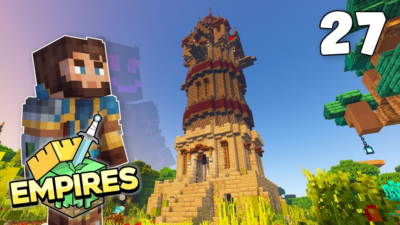 Empires SMP - DARK TOWER OF MYTHLAND!!! - Ep.27